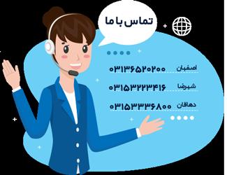 اطلاعات تماس موسسه فرهنگی زبان ناهید